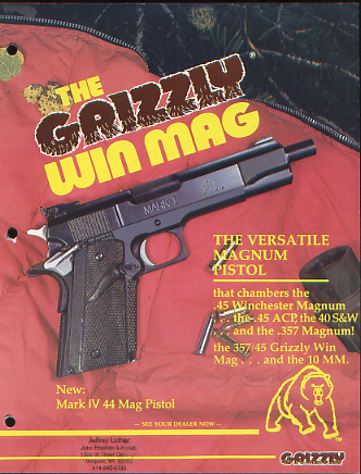 1992 L.A.R. Grizzly Catalog