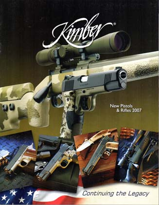 2007 Kimber Mfg. New Products Catalog