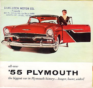 1955 Plymouth Adv.Folder