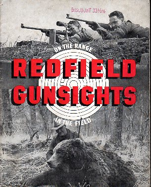 1950 Redfield Gunsights Catalog