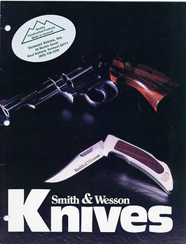 1986 S&W Knives Dealer Folder / Catalog
