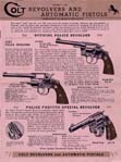 1941 Colt Revolvers And Automatic Pistols Catalog