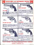 1955 Colt Revolvers And Automatic Pistols Price List/Catalog