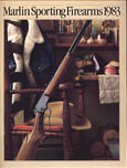1983 Marlin Firearms Catalog