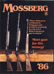 1986 Mossberg Firearms Catalog
