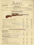 1978 Weatherby Dealer Price List