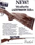 1985 Weatherby Lazermark Announcement