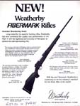 1983 Weatherby Fibermark Announcement