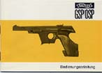 Walther GSP/OSP Instruction Manual