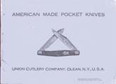 1970's Reproduction Union Cutlery Catalog