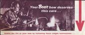 1969-70's Bear Bow Care Brochure