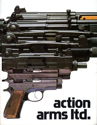 1987 Action Arms Catalog