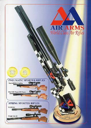 2001 Air Arms Catalog