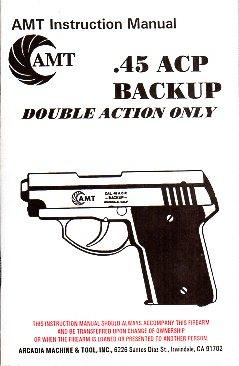 AMT .45 Backup Manual