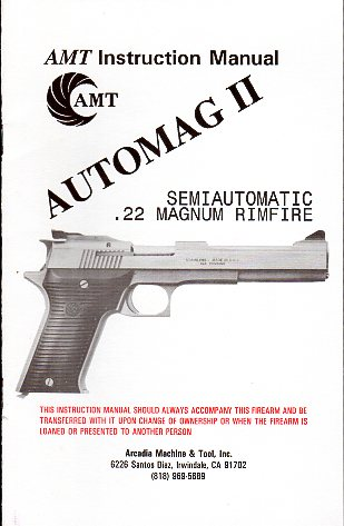 AMT Automag II Manual