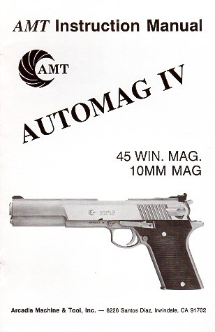 AMT Automag IV Manual