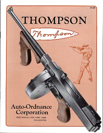 1980 Auto-Ordnance Thompson Catalog