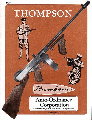 1982 Auto-Ordnance Thompson Catalog