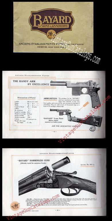 Bayard Vintage Gun Catalogs