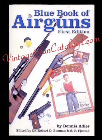 2001 First Edition Blue Book Of Airguns