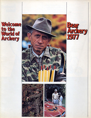 1977 Bear Archery Catalog