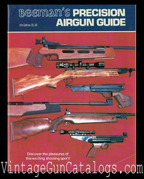 1977 Beeman's Precision Airgun Guide