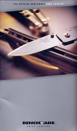 2000 Benchmade Catalog