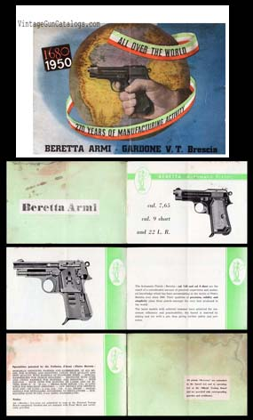"1950 ""Beretta Automatic Pistol Manual"""
