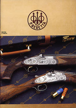 1989 Beretta Firearms Catalog