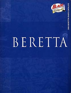 2000 Beretta Knives Catalog