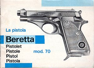 Beretta Model 70 Series Instructions