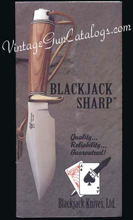 1995 Blackjack Knives,Ltd. Catalog