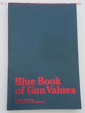 1982 Blue Book Of Gun Values