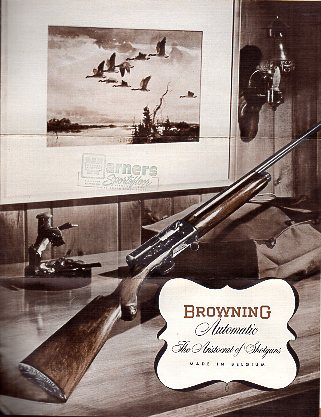 1950's Browning Automatic Shotgun Folder