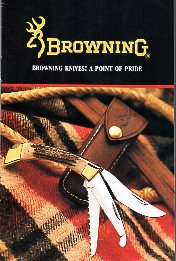 1990 Browning Knives Catalog