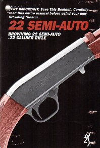 1970's-80's Browning 22 Semi-Auto Manual