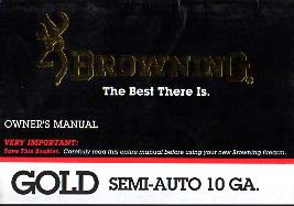 Browning Gold Semi-Auto 10ga
