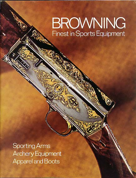 1971 Browning Catalog w/xtras