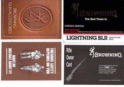 Browning Miroku-Lightning BLR Manual