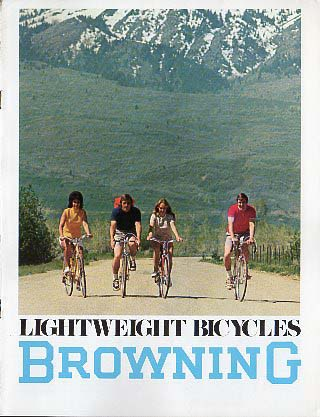 1974 Browning Bicycle Catalog
