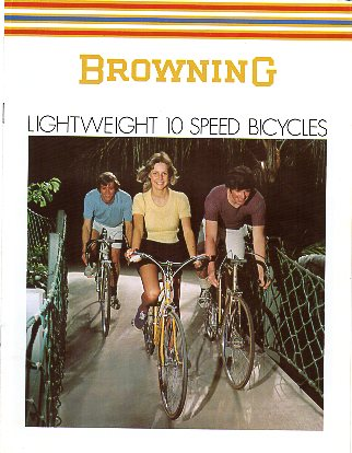 1973 Browning Bicycle Catalog