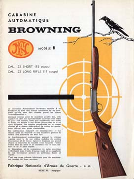 1950 FN Browning Model B Manual