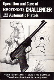 1970\'s Browning Challenger Manual