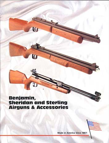 "1992 ""Benjamin Sheridan Sterling"" Airgun Catalog"