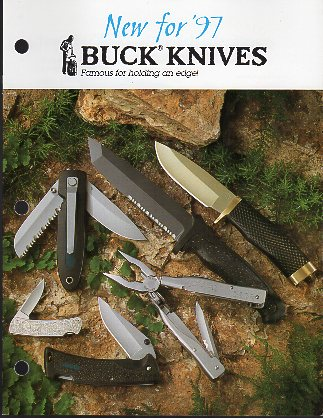 1997 Buck Knives Catalog