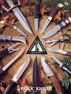 1996 Buck Knives Catalog
