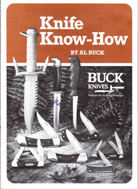 1985 Buck Knife Know-How
