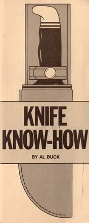 "1980 Buck ""Knife Know-How"" Booklet"