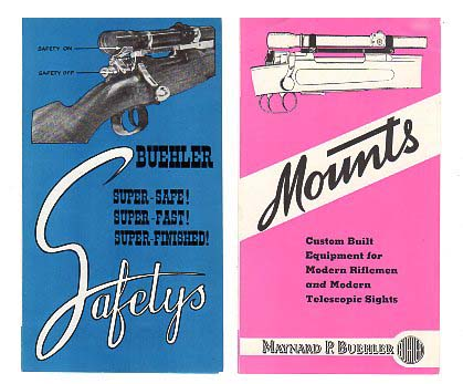 1950 Buehler Mounts Brochure