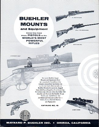 1960 Buehler Mounts Catalog